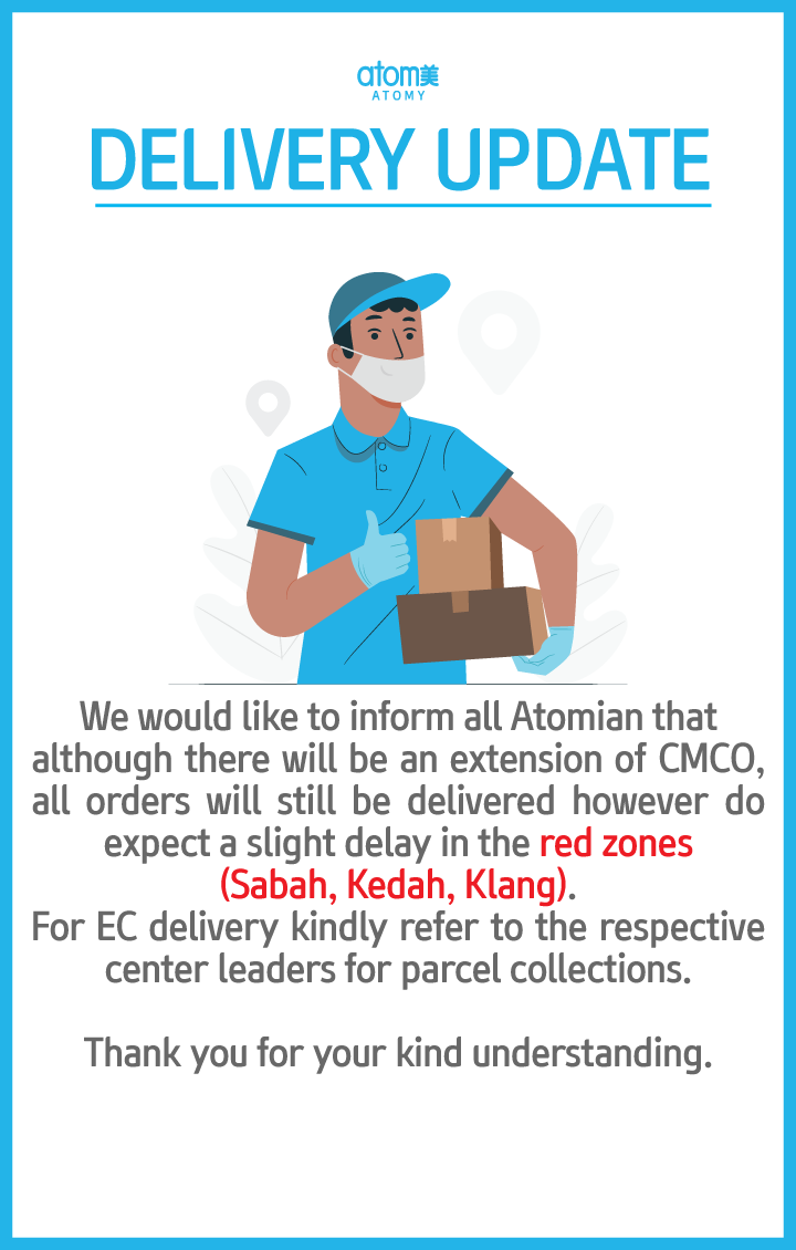 [OFFICE] DELIVERY UPDATE