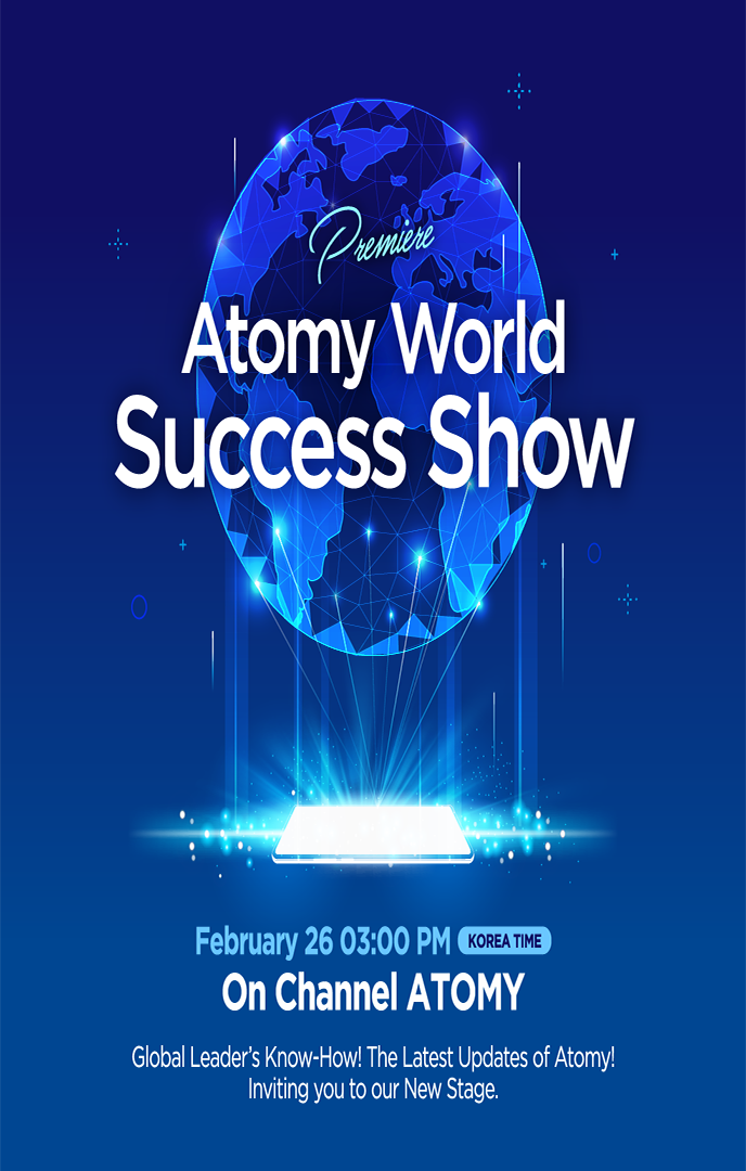 Atomy World Succeess Show宣傳