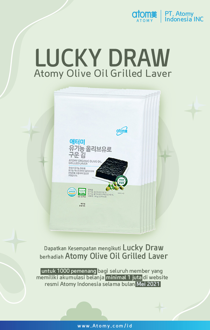 LUCKY DRAW GRILLED LAVER