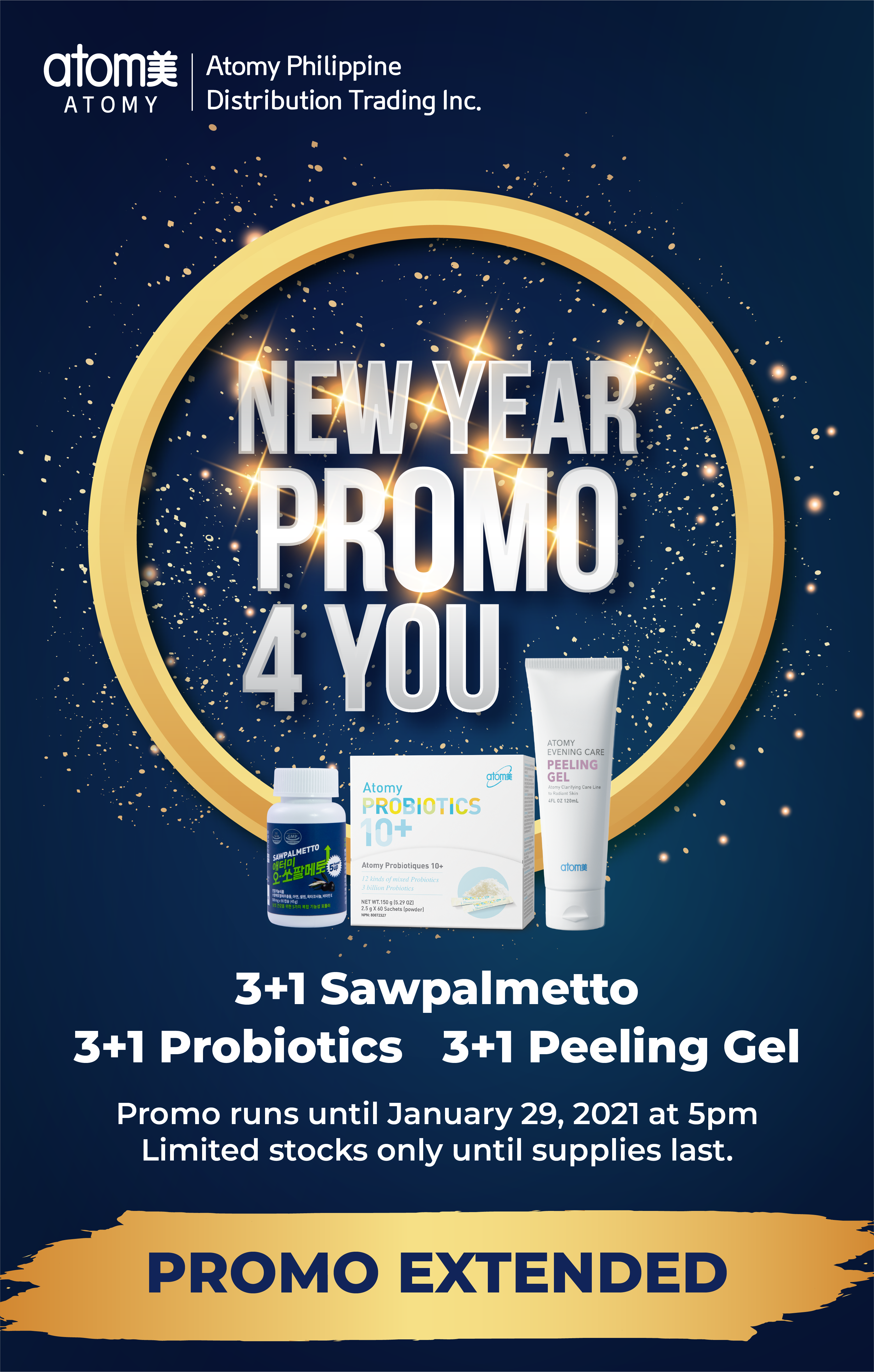 Special Announcement - Ney year Promo 4 you EXTENDED
