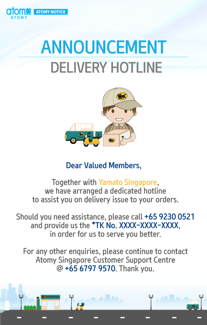 DELIVERY HOTLINE