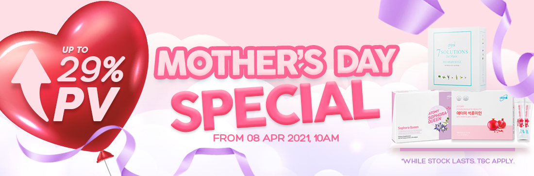 Mother's Day Campaign - From 08 Apr, 10am