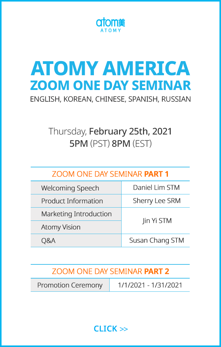 Zoom One Day Seminar