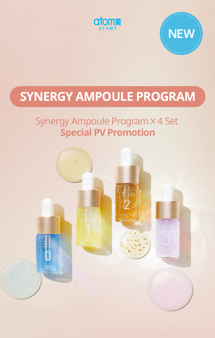 Atomy Synergy Ampoule Program