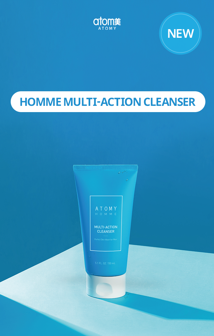 Homme Multi-Action Cleanser