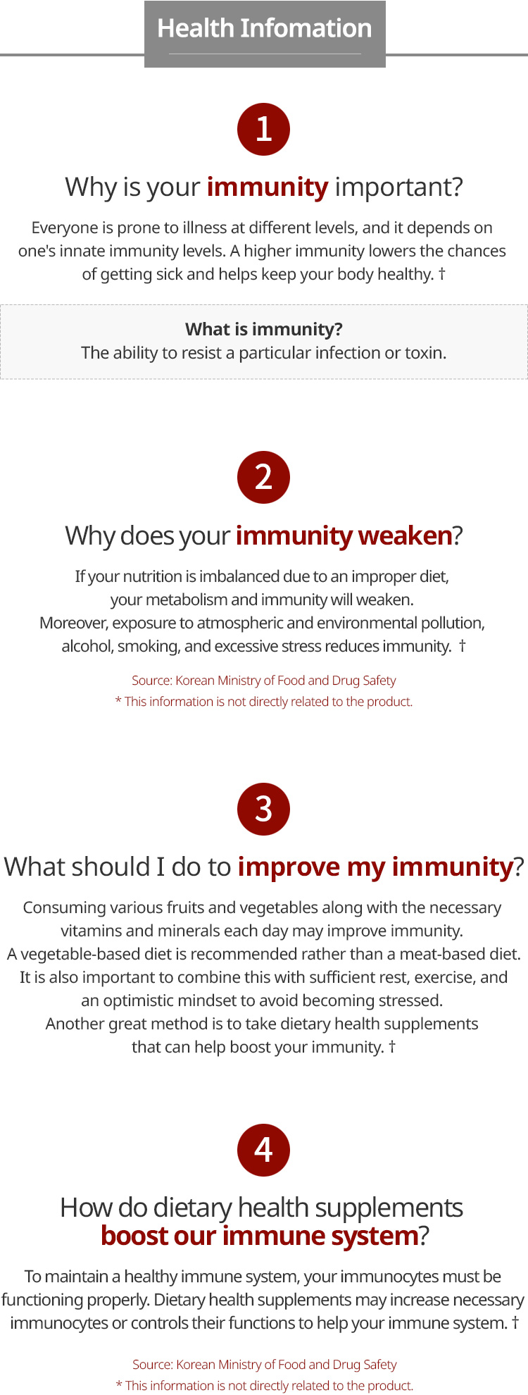 Red Ginseng Help to increase immunity